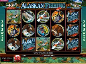 Alaskan Fishing Microgaming kolikkopelit screenshot