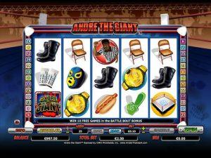Andre the Giant Microgaming kolikkopelit screenshot