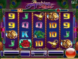 Arabian Rose Microgaming kolikkopelit screenshot
