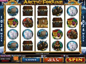 Arctic Fortune Microgaming kolikkopelit screenshot
