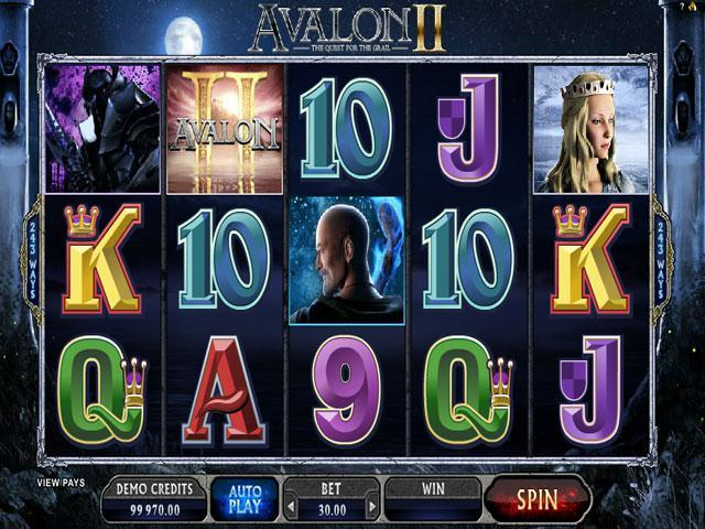 Avalon II Microgaming kolikkopelit screenshot