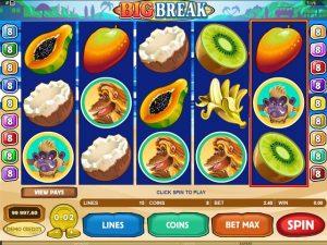 Big Break Microgaming kolikkopelit screenshot