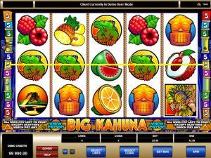 Big Kahuna Microgaming kolikkopelit screenshot