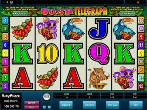 Bush Telegraph Microgaming kolikkopelit screenshot