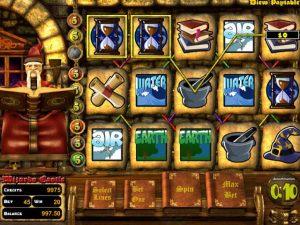 Wizard's Castle Betsoft kolikkopelit screenshot