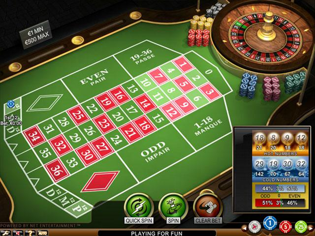NetEnt French Roulette Pro Toripelit screenshot