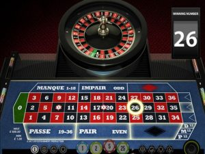 NetEnt French Roulette Toripelit screenshot