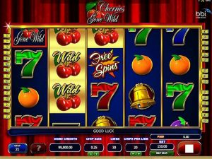 Cherries Gone Wild microgaming kolikkopelit screenshot