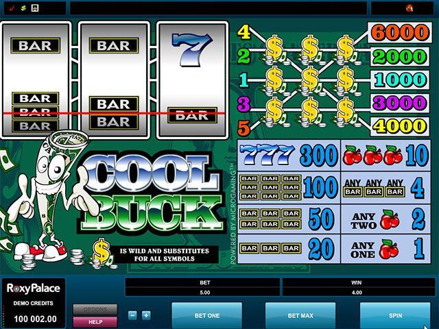 Cool Buck microgaming kolikkopelit screenshot