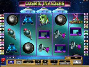 Cosmic Invaders microgaming kolikkopelit screenshot