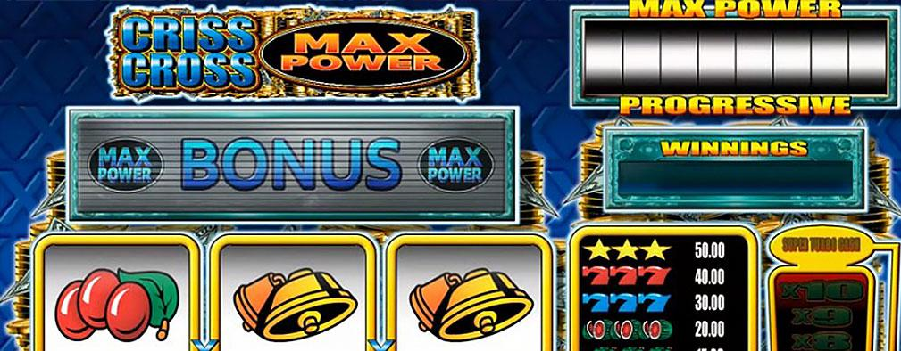 Criss Cross Max Power microgaming kolikkopelit slider