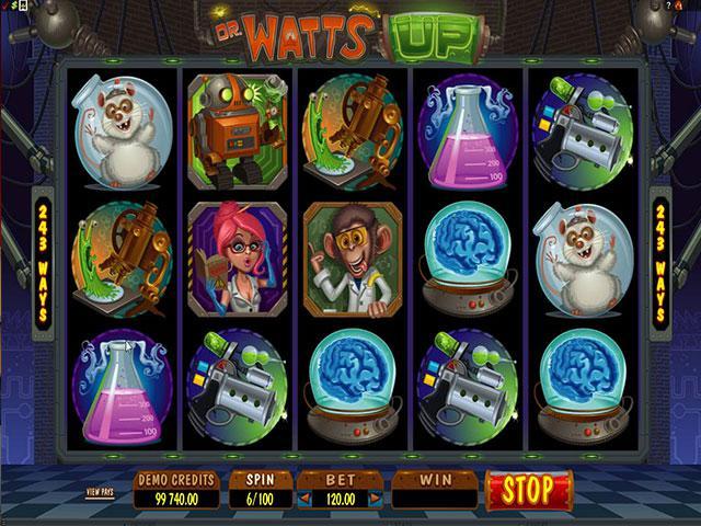 Dr Watts Up microgaming kolikkopelit screenshot