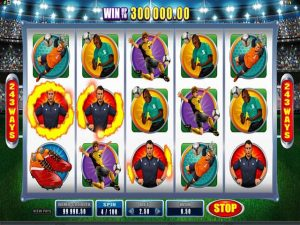 Football Star microgaming kolikkopelit screenshot
