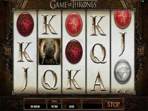 Game of Thrones microgaming kolikkopelit screenshot