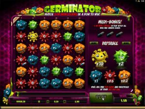Germinator microgaming kolikkopelit screenshot