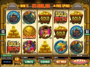 Gold Factory microgaming kolikkopelit screenshot