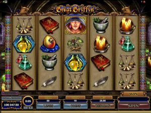 Great Griffin microgaming kolikkopelit screenshot
