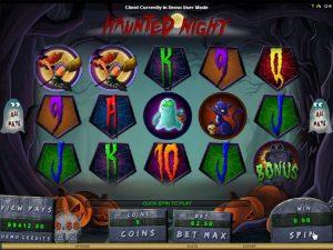 Haunted Night microgaming kolikkopelit screenshot