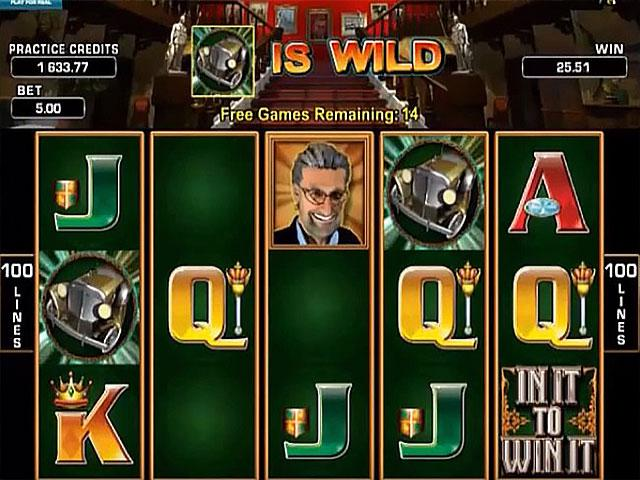 In It To Win It Microgaming kolikkopelit screenshot