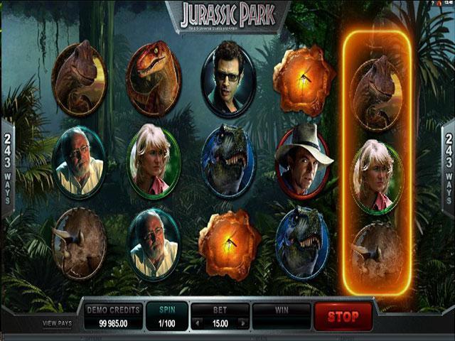 Jurassic Park Microgaming kolikkopelit screenshot