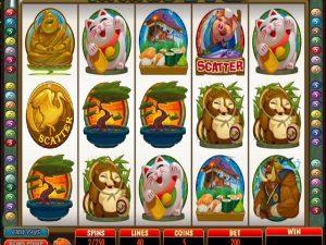 Karate Pig Microgaming kolikkopelit screenshot