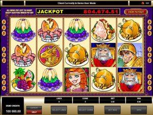 King Cashalot Microgaming kolikkopelit screenshot