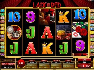 Lady in Red Microgaming kolikkopelit screenshot