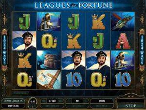 Leagues of Fortune Microgaming kolikkopelit screenshot