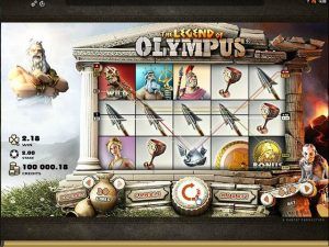 Legend Of Olympus Microgaming kolikkopelit screenshot