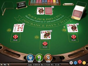 Blackjack Professional Series Standard Limit NetEnt screenshot