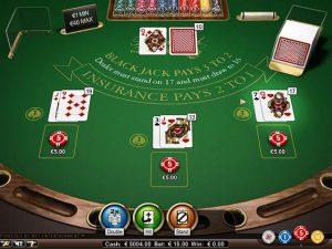 Blackjack Professional Series Standard Limit NetEnt screenshot