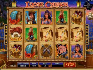 Loose Cannon Microgaming kolikkopelit screenshot