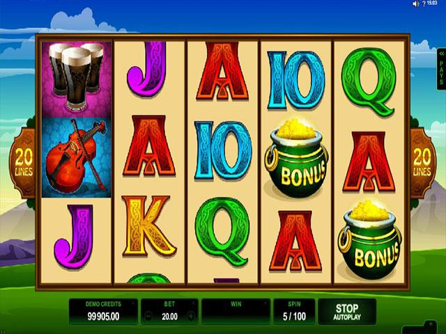 Lucky Leprechaun Microgaming kolikkopelit screenshot
