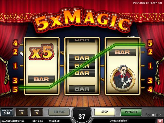 Kolikkopelit 5x Magic PlaynGo SS - Toripelit.com