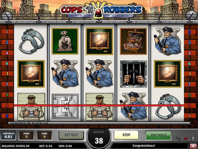 Kolikkopelit Cops'n'Robbers PlaynGo SS - Toripelit.com