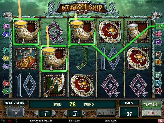 Kolikkopelit Dragon Ship PlaynGo SS - Toripelit.com