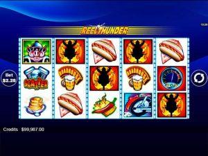 Kolikkopelit Reel Thunder Microgaming SS - Toripelit.com