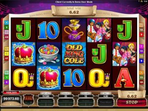 Kolikkopelit Rhyming Reels – Old King Cole Microgaming SS - Toripelit.com