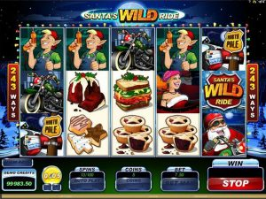 Kolikkopelit Santas Wild Ride Microgaming SS - Toripelit.com