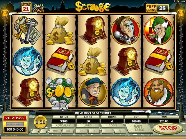 Kolikkopelit Scrooge Microgaming SS - Toripelit.com