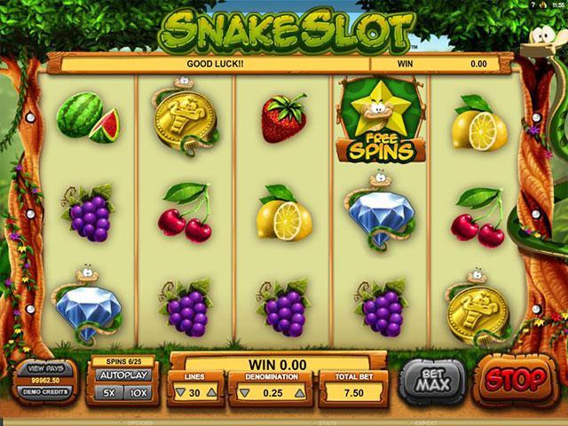 Kolikkopelit Snake Slot Microgaming SS - Toripelit.com