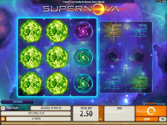 Kolikkopelit Supernova Microgaming SS - Toripelit.com