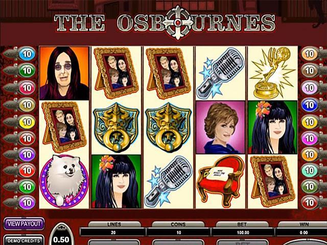 Kolikkopelit The Osbournes Microgaming SS - Toripelit.com