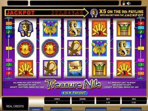Kolikkopelit Treasure Nile Microgaming SS - Toripelit.com