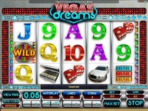 Kolikkopelit Vegas Dreams Microgaming SS - Toripelit.com
