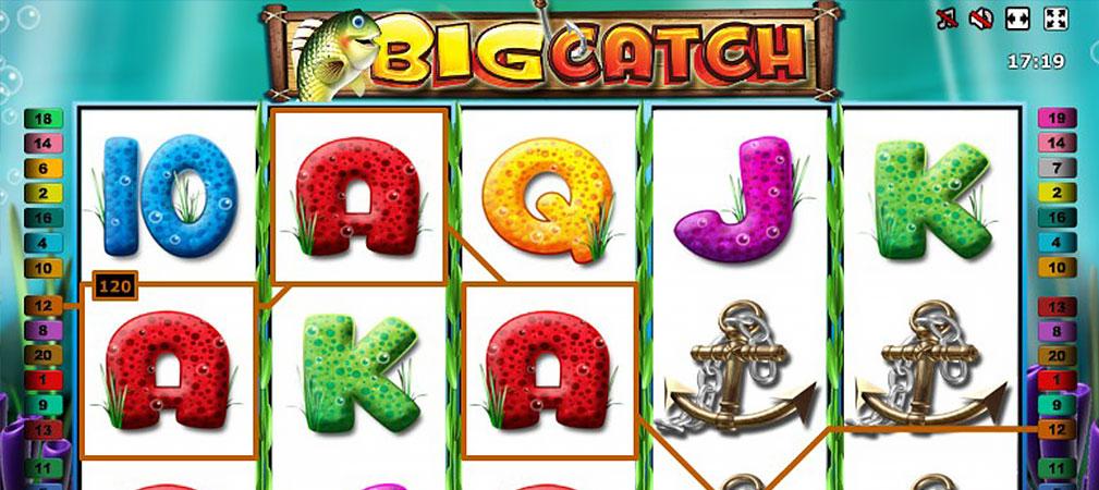Kolikkopelit Big Catch, Novomatic Slider - Toripelit.com