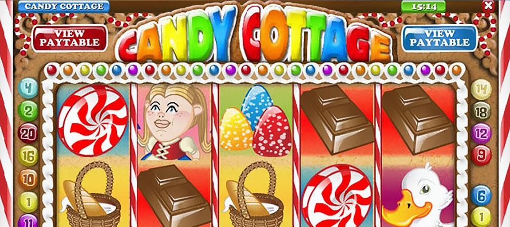 Kolikkopelit Candy Cottage, Rival Slider - Toripelit.com