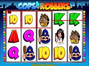 Kolikkopelit Cops'N'Robbers, Play'n GO SS - Toripelit.com