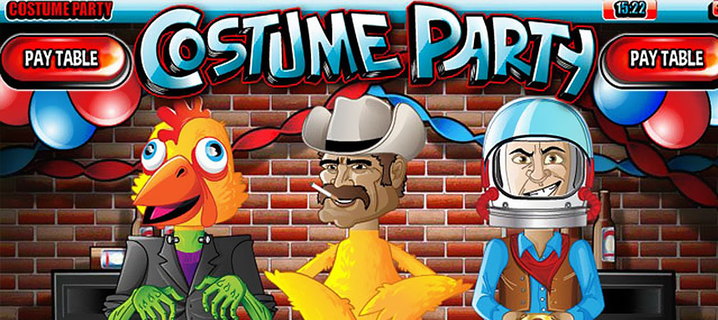 Kolikkopelit Costume Party, Rival Slider - Toripelit.com