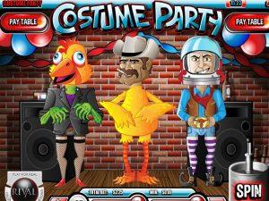 Kolikkopelit Costume Party, Rival SS - Toripelit.com